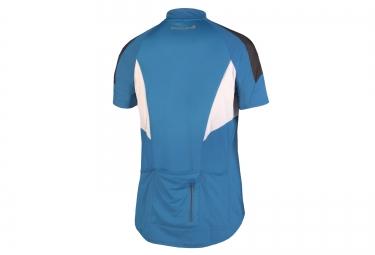 maillot manches courtes endura hummvee lite bleu m