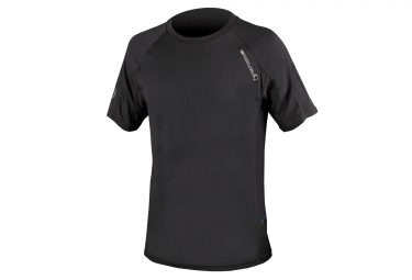 maillot manches courtes endura singletrack lite wicking noir l