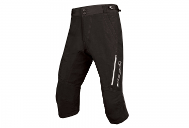 Short 3/4 ENDURA SINGLETRACK II Noir