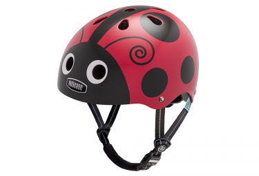 NUTCASE Youth Dirt Helmet LITTLE NUTTY Red Black