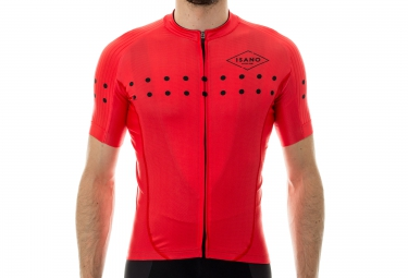 maillot manches courtes isano little dot rouge xxl