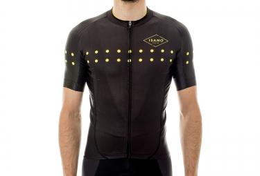 ISANO LITTLE DOT Short Sleeves Jersey 2016 Black Gold