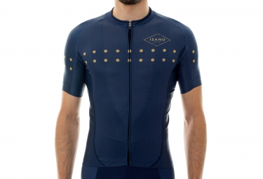 Maillot Manches Courtes ISANO LITTLE DOT Bleu Or
