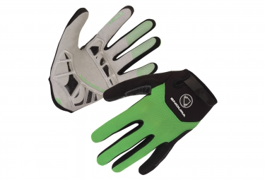 Gants longs endura singletrack plus vert s