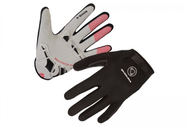 Gants longs endura singletrack plus noir l