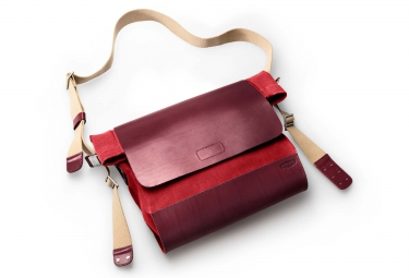 BROOKS BRIXTON Messenger Bag Red