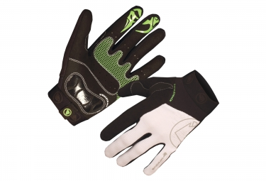 Endura Singletrack Glove II White Green