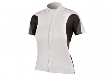 Short sleeve jersey ENDURA FS260-PRO White Female