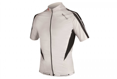 ENDURA Short Sleeves Jersey FS260 Pro White