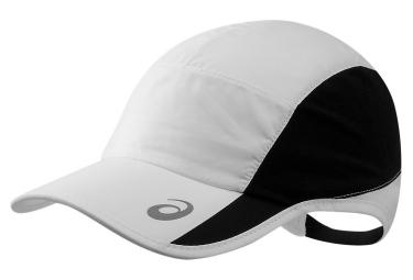 casquette asics performance blanc noir