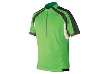 Endura maillot manches courtes hummvee green taille s