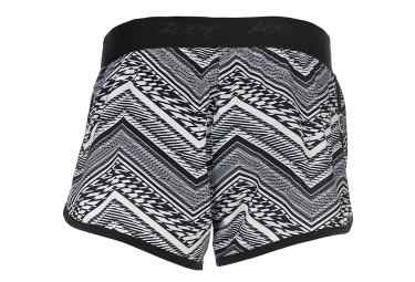 Short de Running Femme ZOOT BOARD 3´´ Noir Blanc