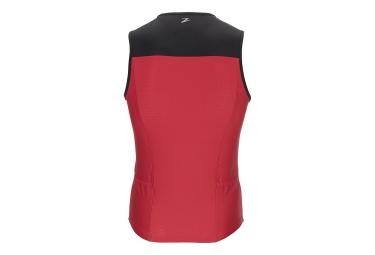 debardeur de triathlon zoot active tri noir rouge xl