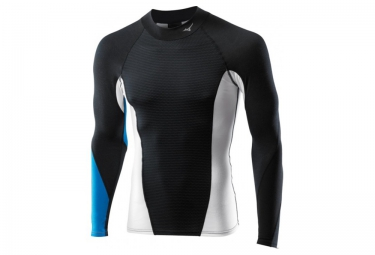 mizuno maillot virtual body g1 noir bleu homme xl
