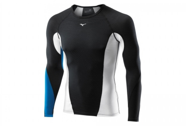 mizuno maillot virtual body g1 noir bleu xxl