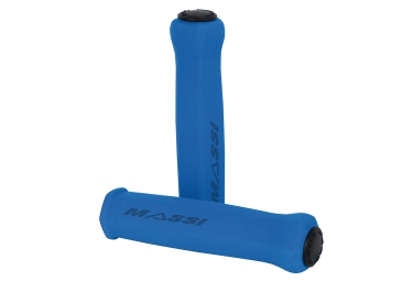 Paire de grips massi elite light bleu