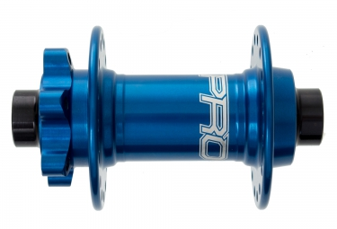 HOPE Moyeu Avant PRO 4 EVO BOOST 110X15mm 32 Trous Bleu
