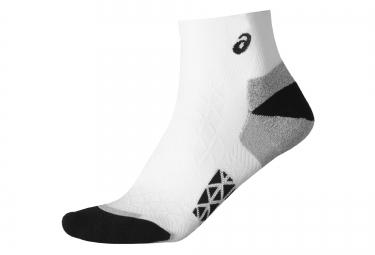 paire de chaussettes asics marathon racer blanc 47 49