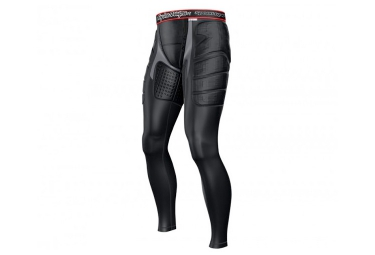 Troy lee designs pantalon de protection avec peau de chamois 7705 noir 24