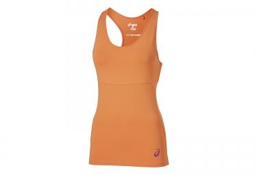 Camiseta De Tirantes Asics Racerback Mujer Naranja L