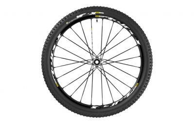 roue avant mavic crossmax xl pro wts 2016 29 axe 15x100mm pneu crossmax quest 2 35