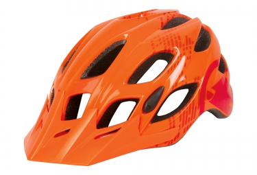 casque vtt endura hummvee orange 51 56 cm