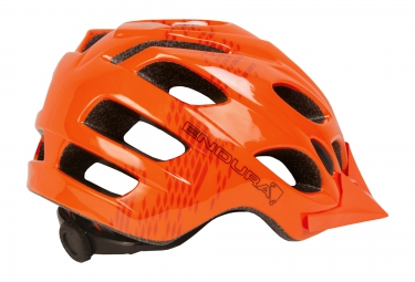casque vtt endura hummvee orange 58 63 cm