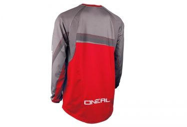 Maillot Manches Longues ONEAL ELEMENT FR GREG MINNAAR Rouge Gris