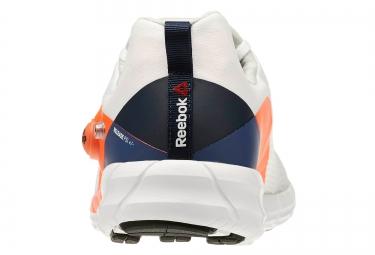 REEBOK Shoes ZPUMP FUSION 2.0 KNIT White Orange  5cea8690c
