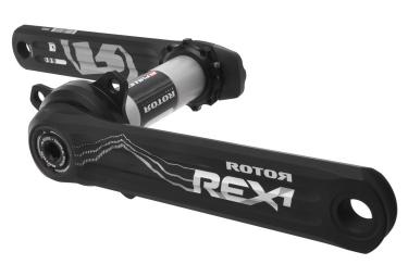 Pédalier avec Capteur de Puissance ROTOR INPOWER REX 1.1 Noir