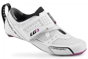 Chaussures Triathlon Femme LOUIS GARNEAU TRI X-LITE 2016 Blanc