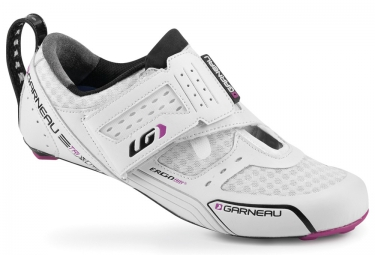Triathlon Schuhe LOUIS GARNEAU Tri X-Lite - Damen - Weiß/Rosa