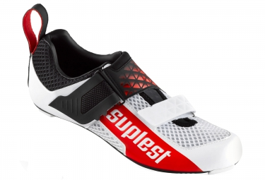 chaussures triathlon suplest edge 3 performance noir blanc rouge 42