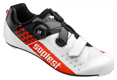 chaussures route suplest edge 3 performance blanc noir rouge 39