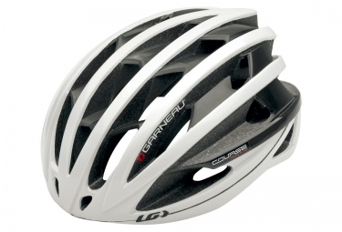 Casque route louis garneau course blanc s 52 56 cm