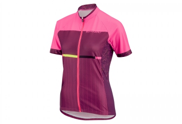 Maillot manches courtes femme louis garneau equipe gt series rose xs