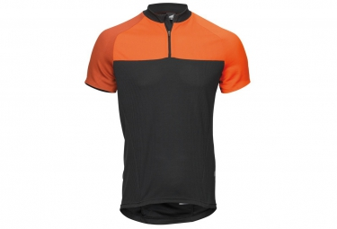 Maillot Manches Courte HAIBIKE XDURO Noir Rouge