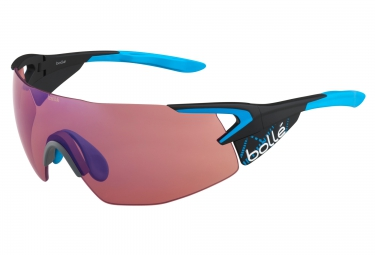 lunettes cyclisme bolle 5th element pro carbone bleu rose