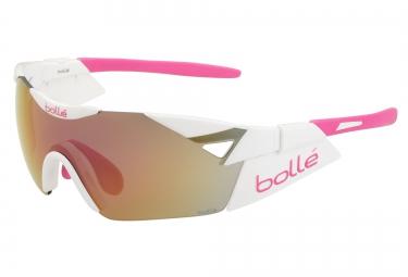 Lunettes Bollé 6th SENSE S Femme pink/white pink UV Catégorie 3