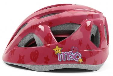 Casque Enfants MSC OUTMOLD Rose