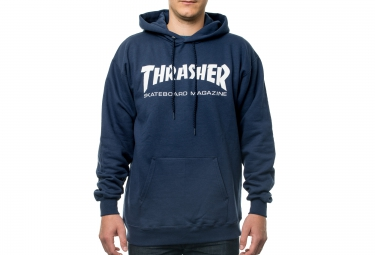 Sudadera con capucha THRASHER SKATE MAG Azul