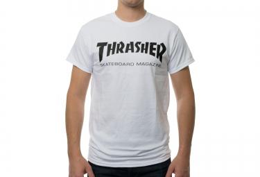 T-Shirt THRASHER SKATE MAG Blanc