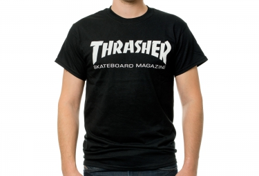 T-Shirt THRASHER SKATE MAG Noir