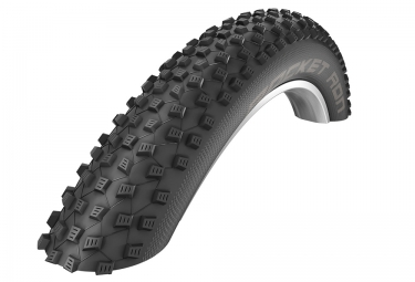 pneu schwalbe rocket ron 27 5 plus tubeless easy souple snakeskin pacestar noir 3 00