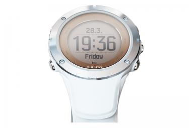 Montre GPS Suunto AMBIT3 SPORT HR Smart Sensor Blanc