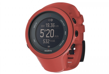 Montre GPS Suunto AMBIT3 SPORT HR Smart Sensor Rouge