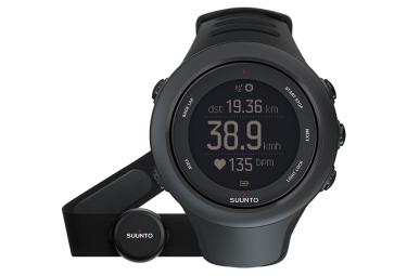 suunto montre gps ambit3 sport hr noir ceinture cardiaque smart sensor