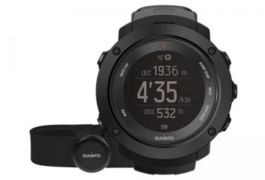suunto montre gps ambit3 vertical hr noir ceinture cardiaque smart sensor