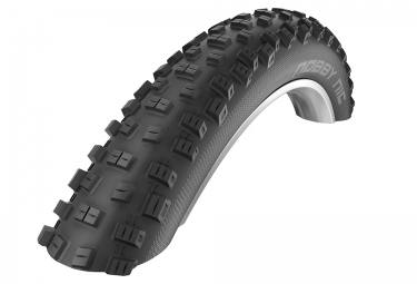 pneu schwalbe nobby nic 27 5 plus tubeless easy souple snakeskin trailstar 3 00