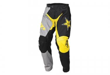 pantalon de dh one industries atom rockstar noir jaune 32
